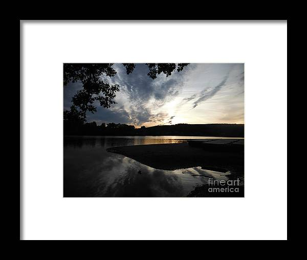 Sun Framed Print featuring the photograph After The Storm 2 by Britta Havens