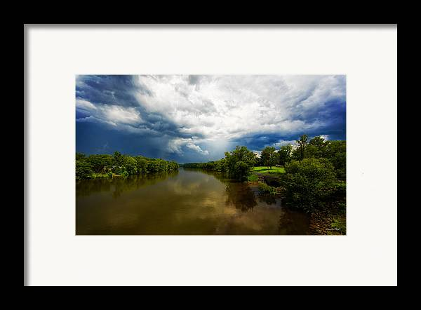 Storm Framed Print featuring the photograph After The Storm by Everet Regal