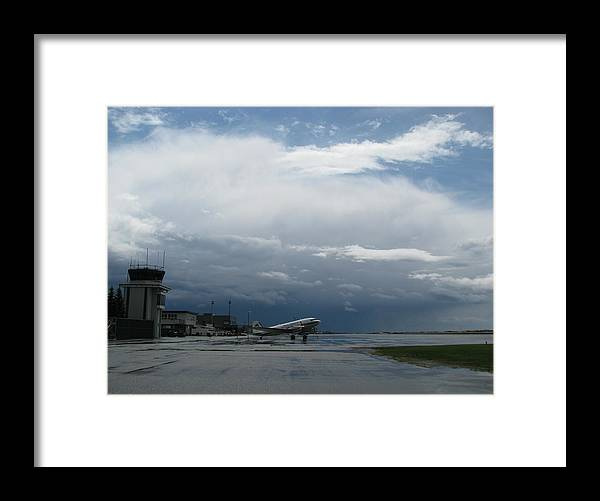 Framed Print featuring the photograph After The Storm by Matthew Barton