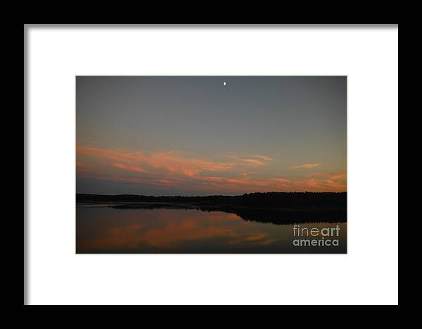 Sun Framed Print featuring the photograph After The Sunset by Britta Havens