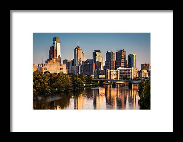 Pa Framed Print featuring the photograph Afternoon In Philly by Mihai Andritoiu