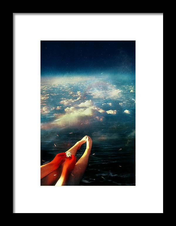 Again Framed Print featuring the digital art Again by Mario Sanchez Nevado