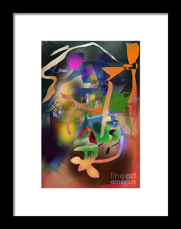 Torah Framed Print featuring the digital art Self-renewal 9h by David Baruch Wolk