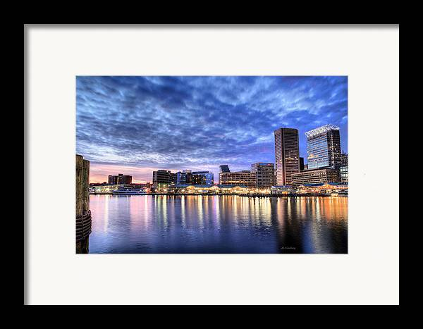 Baltimore City Framed Print featuring the photograph Ah Baltimore by JC Findley