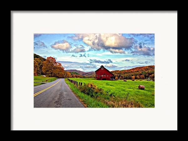 West Virginia Framed Print featuring the photograph Ah...west Virginia Painted by Steve Harrington