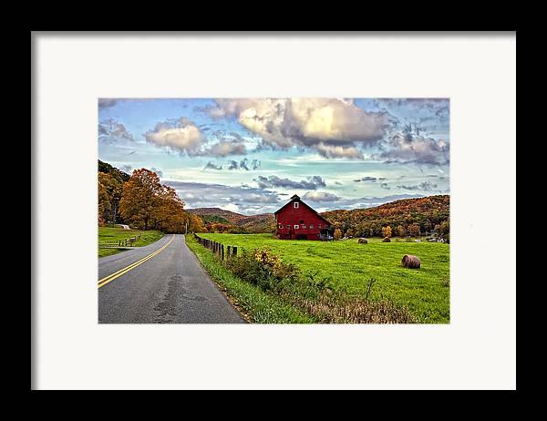 West Virginia Framed Print featuring the photograph Ah...west Virginia by Steve Harrington