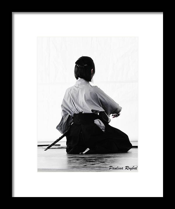 Aikido Framed Print featuring the photograph Aikido by Paulina Roybal
