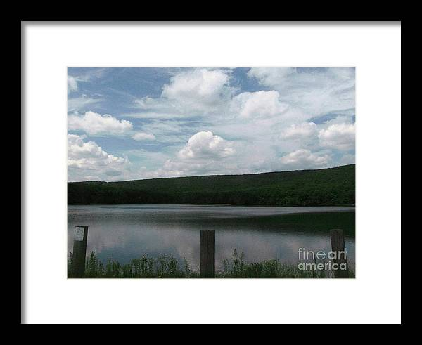Nature Framed Print featuring the photograph Air And Water by Melissa Stoudt