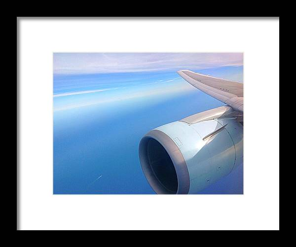 Airplane Framed Print featuring the photograph Air Canada Boeing 767 by Justen Athanasiou