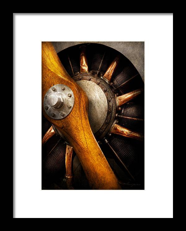 Propeller Framed Print featuring the photograph Air - Pilot - You Got Props by Mike Savad