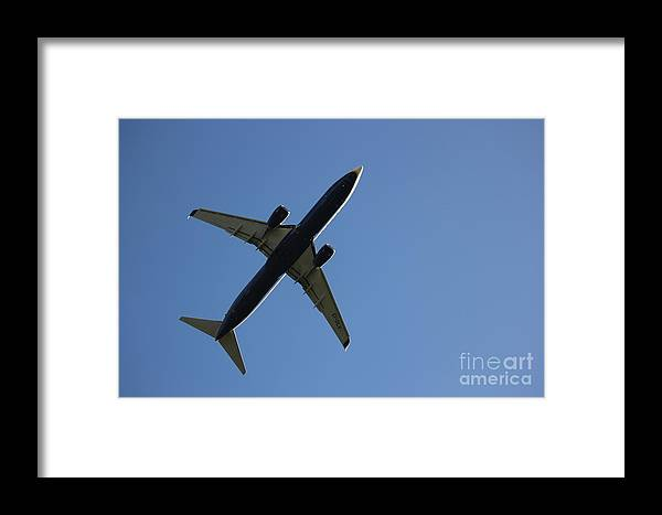 Airplane Framed Print featuring the photograph Airplane I by Four Hands Art