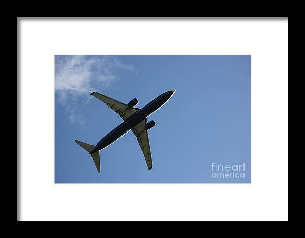 Airplane Framed Print featuring the photograph Airplane II by Four Hands Art