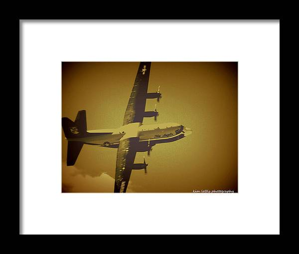 Air Show Framed Print featuring the photograph Airpower 2 by Kim Loftis