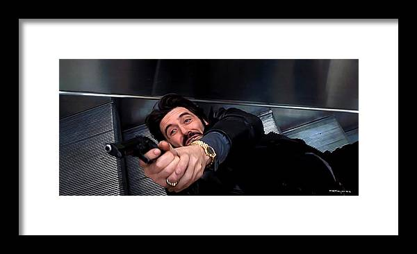 Al Pacino Framed Print featuring the digital art Al Pacino @ Carlito's Way by Gabriel T Toro