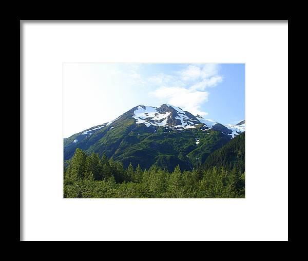 Alaska Framed Print featuring the photograph Alaska 18 by Lew Davis