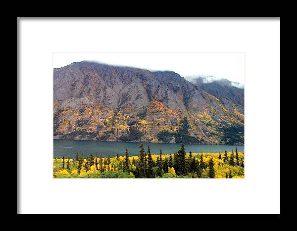 Framed Print featuring the photograph Alaska X4 by Vicente Russo