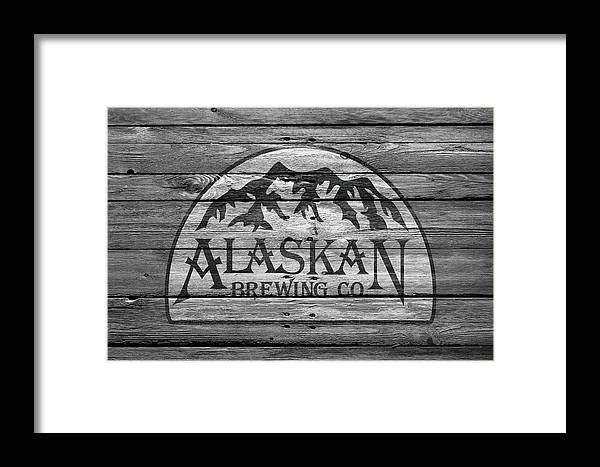 Alaskan Brewing Framed Print featuring the photograph Alaskan Brewing by Joe Hamilton