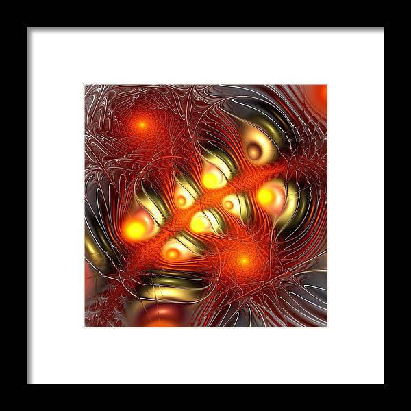 Malakhova Framed Print featuring the digital art Alchemy by Anastasiya Malakhova