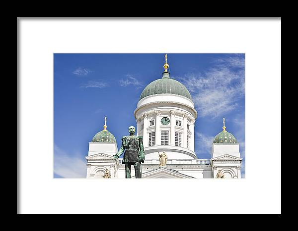 Finland Framed Print featuring the photograph Alexander II  by YJ Kostal