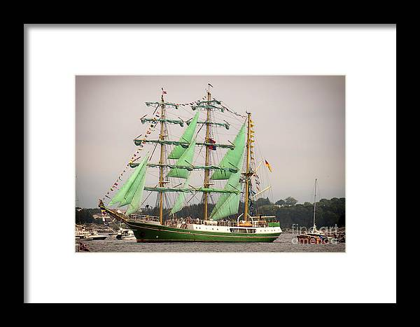 Sailing Framed Print featuring the photograph Alexander Von Humboldt by Jaroslaw Oleksyk