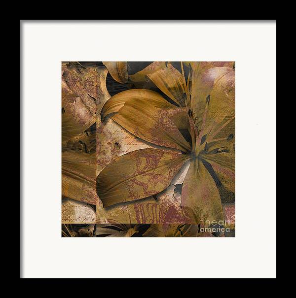 Framed Print featuring the mixed media Alexia II by Yanni Theodorou