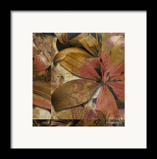Framed Print featuring the mixed media Alexia IIi by Yanni Theodorou