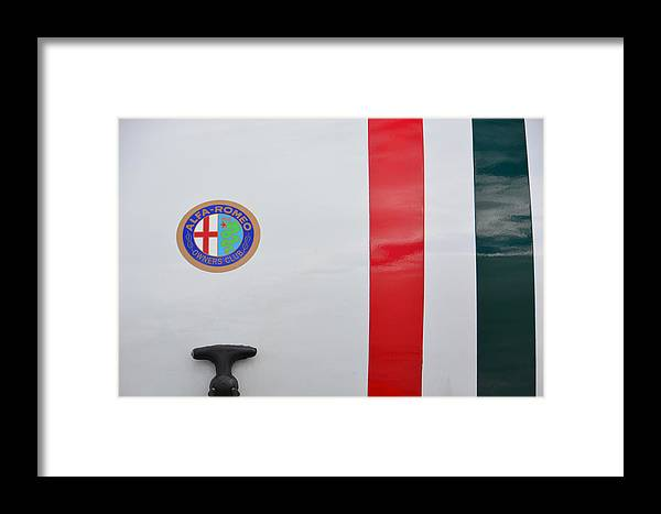 Auto Framed Print featuring the photograph Alfa Romeo Trunk by Mike Martin