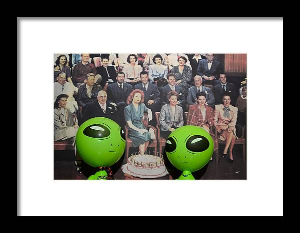 Alien Framed Print featuring the photograph Alien Nostalgia by Richard Henne