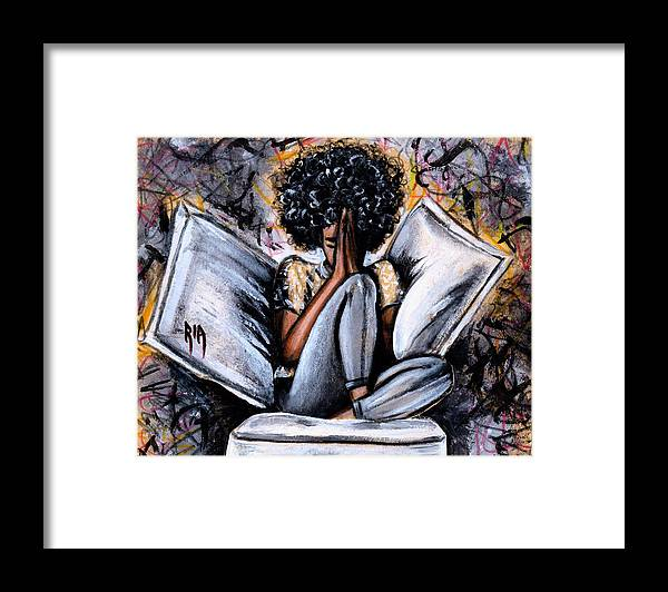Artbyria Framed Print featuring the photograph All I Have by Artist RiA