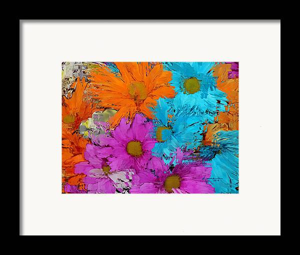 Flower Framed Print featuring the photograph All The Flower Petals In This World 2 by Kume Bryant