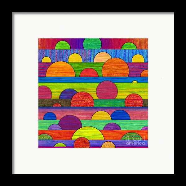 Colored Pencil Framed Print featuring the painting All Tucked In by David K Small