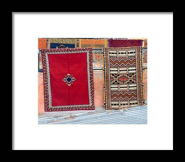 Marrakesh Framed Print featuring the photograph All You Need Is A Carpet And A Dream by A Rey