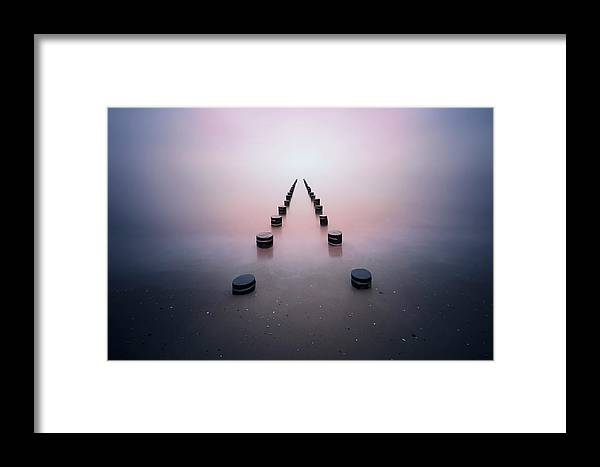 Landscape Framed Print featuring the photograph Alone In The Silence by Srecko Jubic