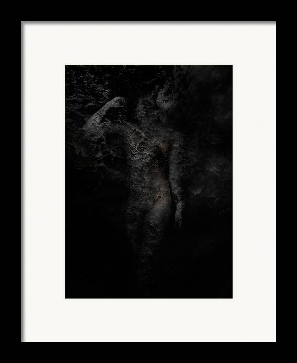 Photography Framed Print featuring the photograph Alone With Her Thoughts by David Fox