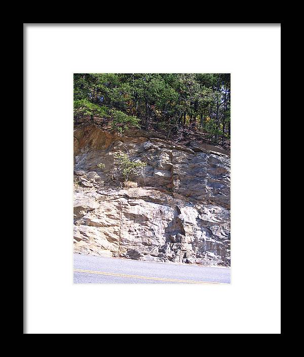 Photograph Framed Print featuring the photograph Along The Blue Ridge by Marian Bell