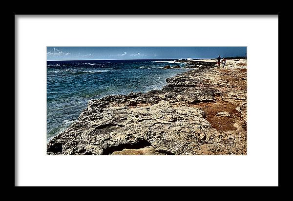 D140218-298 Framed Print featuring the photograph Along The Cliff by Ty Lee
