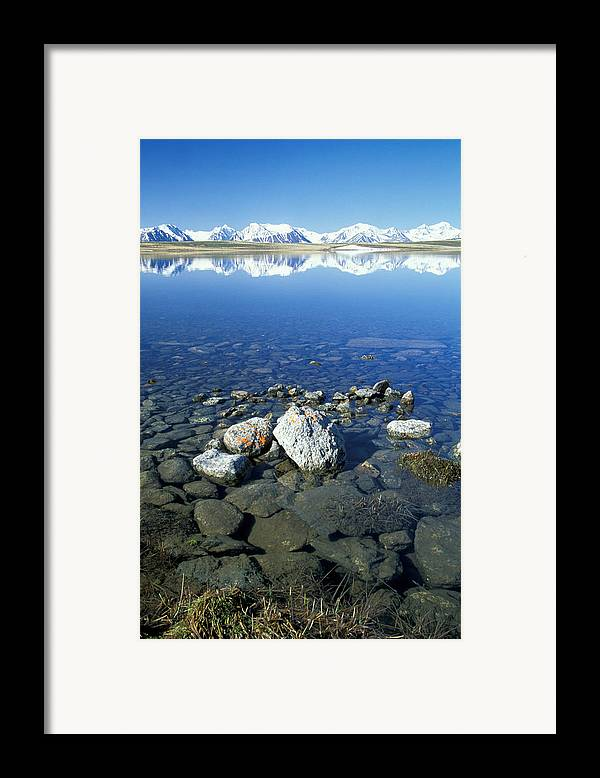 Hills Framed Print featuring the photograph Altai by Anonymous
