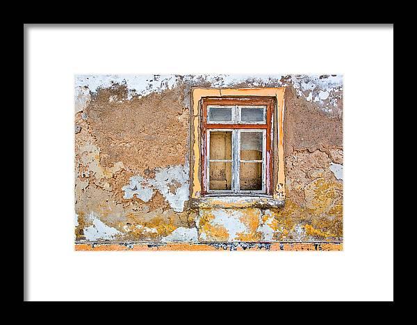 Alvor 2014 Framed Print featuring the photograph Alvor Window by Lauri Novak