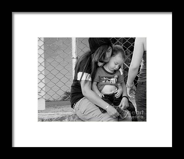 Learn Framed Print featuring the photograph Always So Much To Learn by Lin Haring