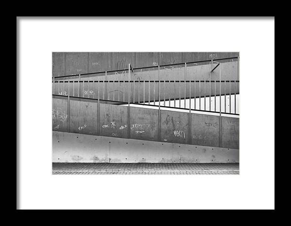 Geometry Framed Print featuring the photograph Alzacar Geometry by Peter Lubben