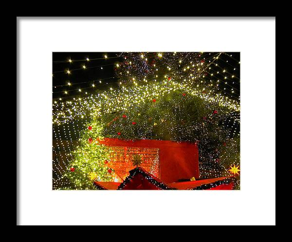 Christmas Framed Print featuring the photograph Amazing Christmas Lights by Andreas Thust
