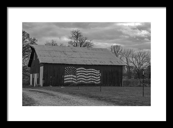 American Flag Barn by John McGraw