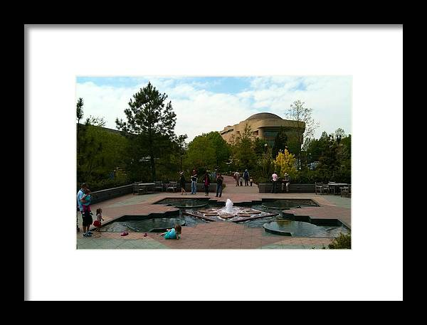 American Indian Museum Framed Print featuring the photograph American Indian Museum by Lois Ivancin Tavaf
