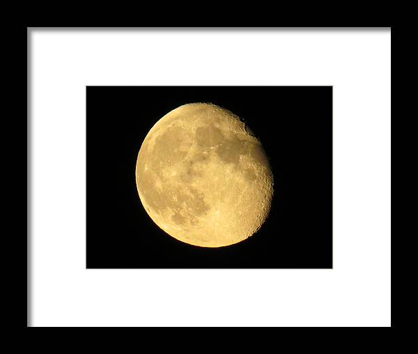 Moon Framed Print featuring the photograph Among Us by Nikki Watson  McInnes