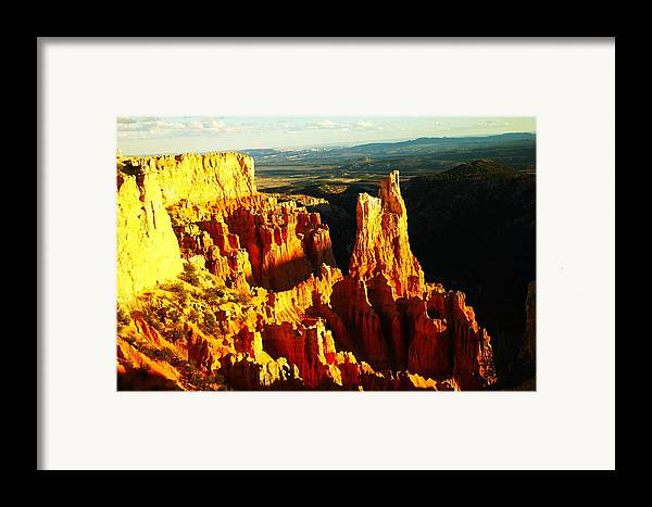 Southwestern Art Framed Print featuring the photograph An October View by Jeff Swan
