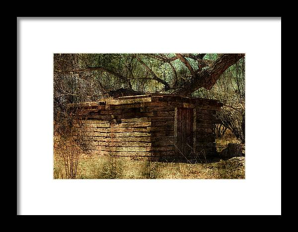 Old Framed Print featuring the photograph An Old Building by Stormys Unique Creations