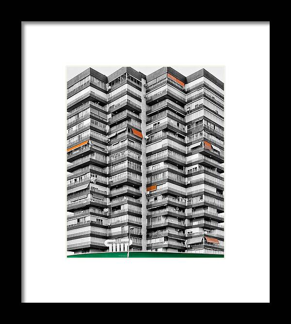 Architecture Framed Print featuring the photograph Anarchitecture Viii by Pedro Fernandez