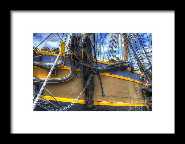 Anchor Framed Print featuring the photograph Anchor by Matt Davis