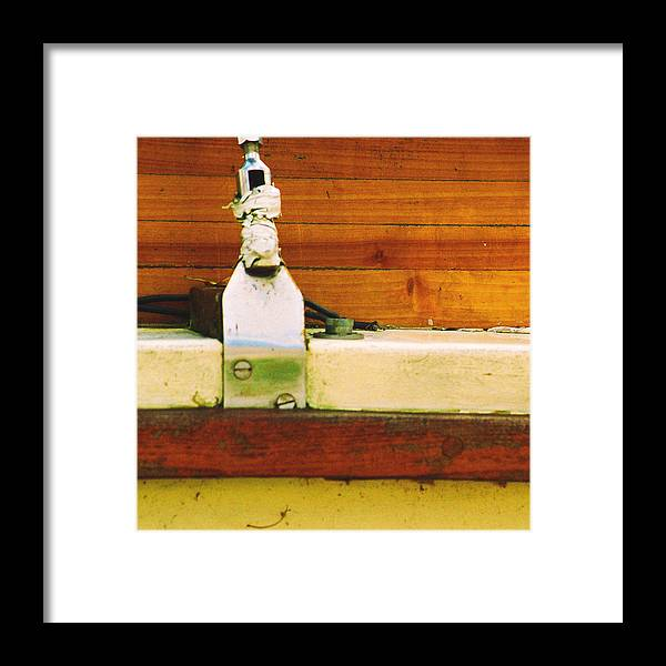 Achor Framed Print featuring the photograph Anchored by Jacob Cane