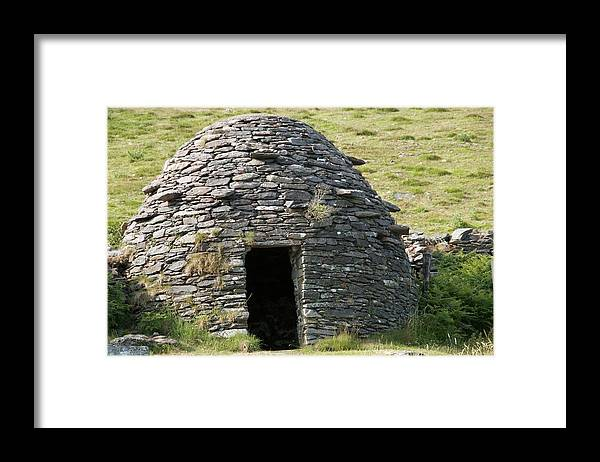 Clochan Framed Print featuring the photograph Ancient Beehive Hut by Sinclair Stammers